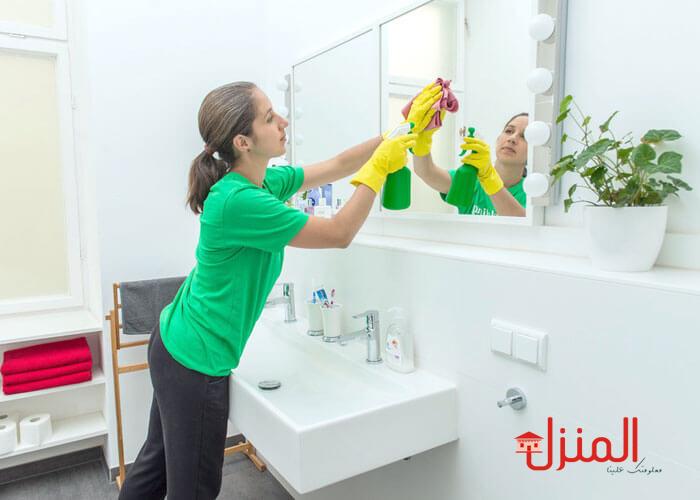 كيفية القيام بتنظيف المنزل