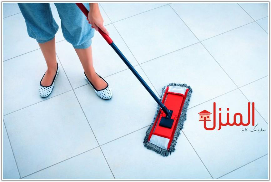 طرق سريعة لتنظيف ارضيات المنازل