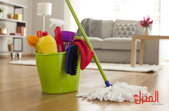 طرق سهله لتنظيف المنزل
