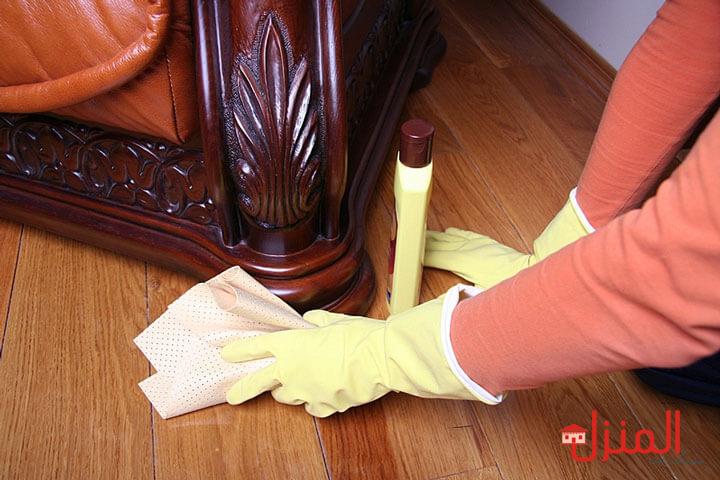 كيفية تلميع اثاث المنزل