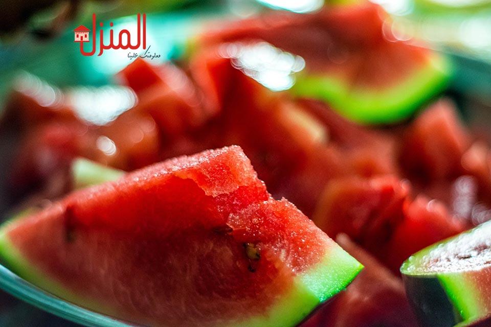 قشر البطيخ وفوائده