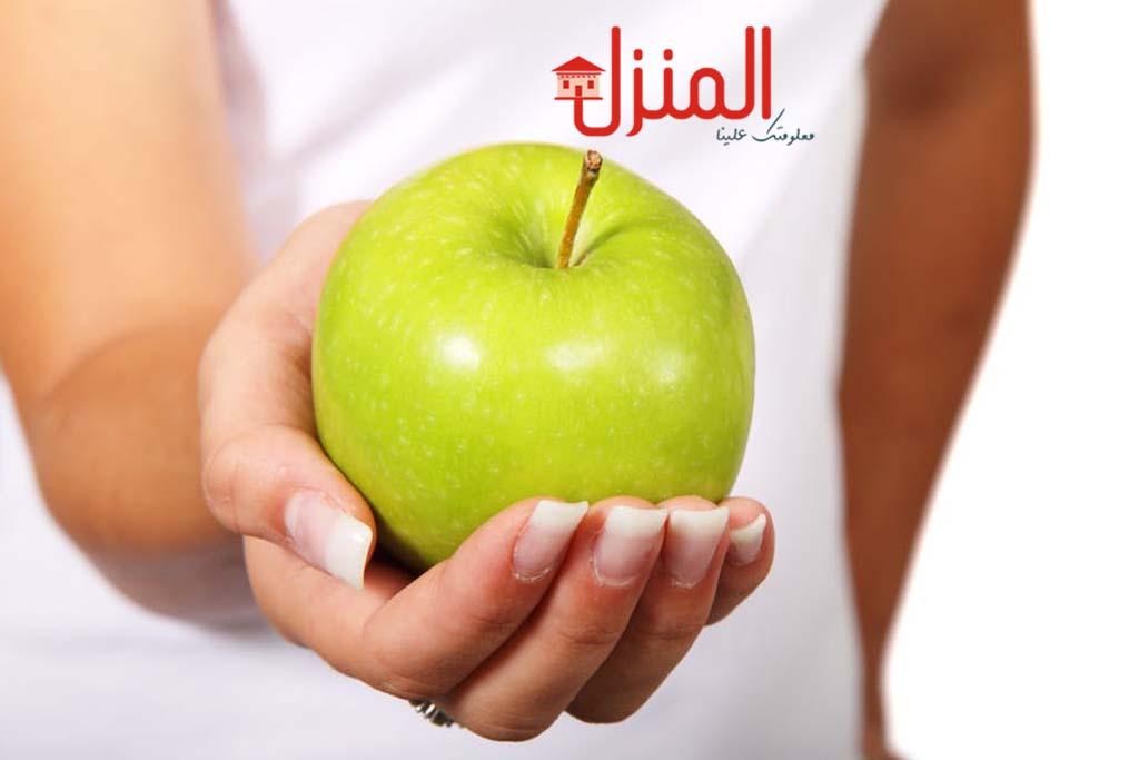 التفاح الأخضر وفوائده