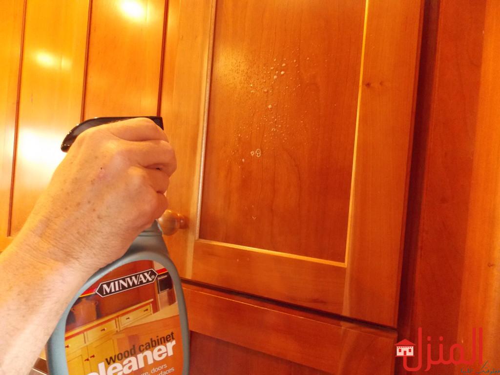 تنظيف خشب المطبخ من الدهون