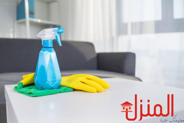 أدوات ومواد أساسية لتنظيف المنزل